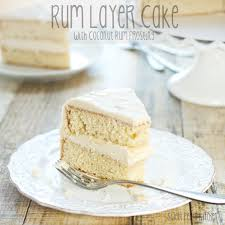 wedding cake layer sweet pea s kitchen rum layer cake with coconut rum frosting