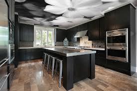 tapisserie cuisine ouverture mur cuisine salon 10 plafond tendu et tapisserie de mur