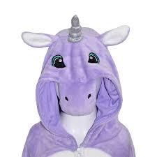 halloween costume unicorn kids girls boys a2z onesie one piece soft fluffy unicorn halloween