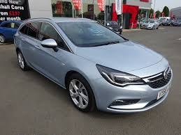 used vauxhall astra davidsons of morpeth