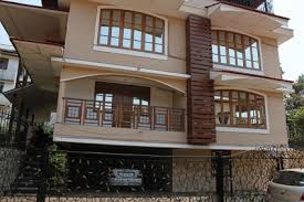 Row House Front Elevation - bungalows apartments villas duplex developments in goa row