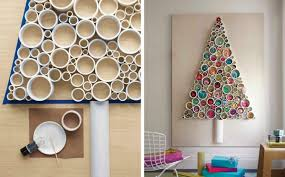 wall christmas tree 60 cool alternative christmas tree ideas cool crafts