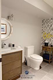feature wall bathroom ideas ideas to add style to small bathroom herringbone marble tile