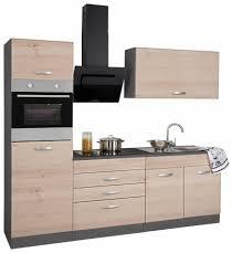 K Henzeile G Stig Held Möbel Küchenzeile Mit E Geräten York Breite 240 Cm Online