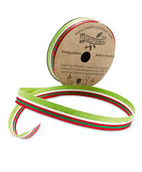 cotton ribbon christmas stripe cotton curling ribbon innisbrook bows and ribbons