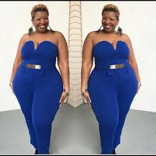royal blue jumpsuit 48 plus size royal blue strapless jumpsuit from
