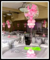 teddy bears inside balloons baby shower balloons the topper with the teddy inside the