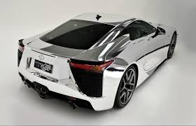 lexus lfa f sport price lfa queensland owner wraps 700 000 supercar in chrome
