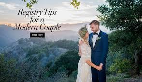 combined wedding registry wedding registry and bridal gift news inside weddings