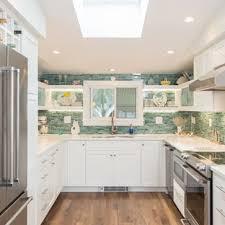 kitchen backsplash ideas with white cabinets houzz 75 beautiful kitchen with green backsplash pictures ideas