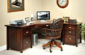 corner office desk with storage office desk drawers desk base 3 drawer home office desk with 4