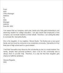letter of recommendation friend u2013 template design