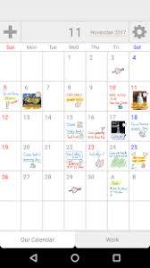 palu shared handwriting calendar creatusapps android apps