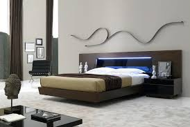 platform bed with led lights bedroom set with led lights real wood tobacco platform bed tinted