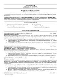 sample of business resume cover letter example business analyst