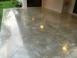 Color Concrete Patio by Power Troweled Polished Concrete With Miami Buff Integral Color