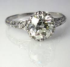 antique diamond rings images Vintage diamond solitaire engagement rings vintage diamond rings jpg