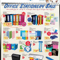 carrefour office stationery sale 16 28 sep 2011