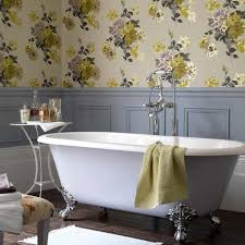Wallpapers For Bathrooms Opting For Wallpaper For Bathrooms Vintage Bathroom Wallpaper