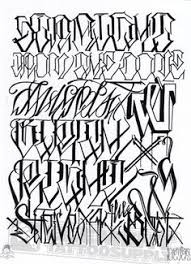 gangster tattoo fonts google search tattoo inspiration