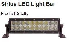 led light bar comparison 50 led lightbar comparison jkowners com jeep wrangler jk forum