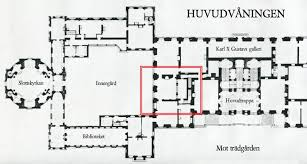 drottningholm palace the floor plan main floor the northern