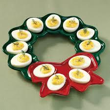 christmas deviled egg plate 19 best 3 egg plates images on boiled eggs deviled