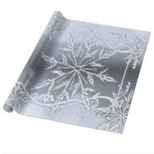 silver wrapping paper silver christmas wrapping paper zazzle