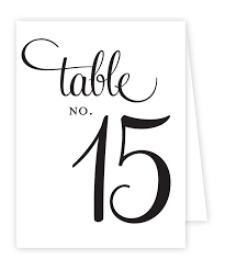 wedding table numbers template free table numbers templates colouring to funny wedding table