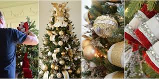 Christmas Decorations Red And Silver 6 Essential Christmas Tree Decorations Christmas Tree Ideas Red And