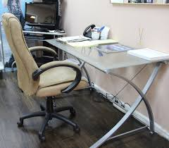 Office Depot Magellan Corner Desk by How To Turn An Empty Corner Into A Workspace With Office Depot