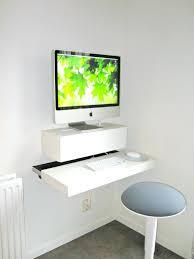 Computer Desk Small Small Wall Desks Wall Mounted Desks For Saving Space Small Wall