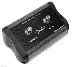 fender mustang 2 footswitch fender 0080997000 2 button footswitch for mustang iii iv v