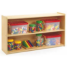 preschool kitchen furniture amazon com 3 shelf preschool storage home kitchen