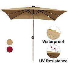 7 Patio Umbrella Abba Patio 7 By 9 Rectangular Patio Umbrella