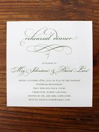 rehearsal dinner invitations etiquette template best template