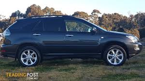 lexus rx 350 for sale nsw 2008 lexus rx350 sports luxury gsu35r 07 upgrade 4d wagon for sale