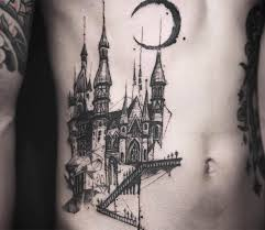 castle tattoo by tattooer nadi photo no 15720