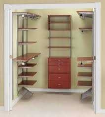 closetmaid selectives 16 in white custom closet organizer 7032