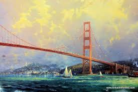 golden gate bridge kinkades for less