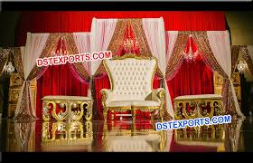 Indian Wedding Chairs For Bride And Groom Asian Wedding Reception Throne Chair U2013 Dstexports
