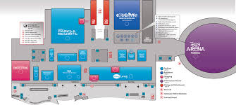 maps of 2011 disney d23 expo show floor released with mobile app