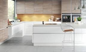 cuisine sans poignee cuisine sans poignée moderne et fonctionnelle moins c est plus