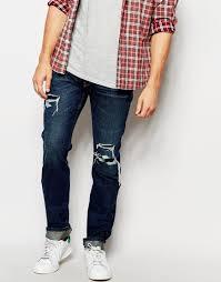 Mens Destroyed Skinny Jeans Hollister Skinny Jeans Mens Oasis Amor Fashion