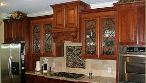 Textured Glass Cabinet Doors Textured Glass For Kitchen Cabinets Exitallergy
