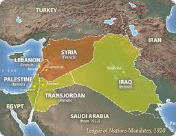 post ww1 map lost islamic history how the divided up the