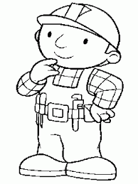 super coloring pages of bob the builder to color and print free