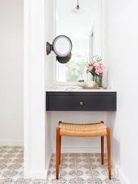 Bathroom Makeup Vanities Bathroom Makeup Vanity Houzz