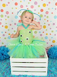 Baby Monster Halloween Costumes by Green Blue Crazy Alien Monster Tutu Dress Birthday