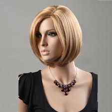 women s bob hairstyle woman u0027s wig blonde short straight wig bob haircut fashion